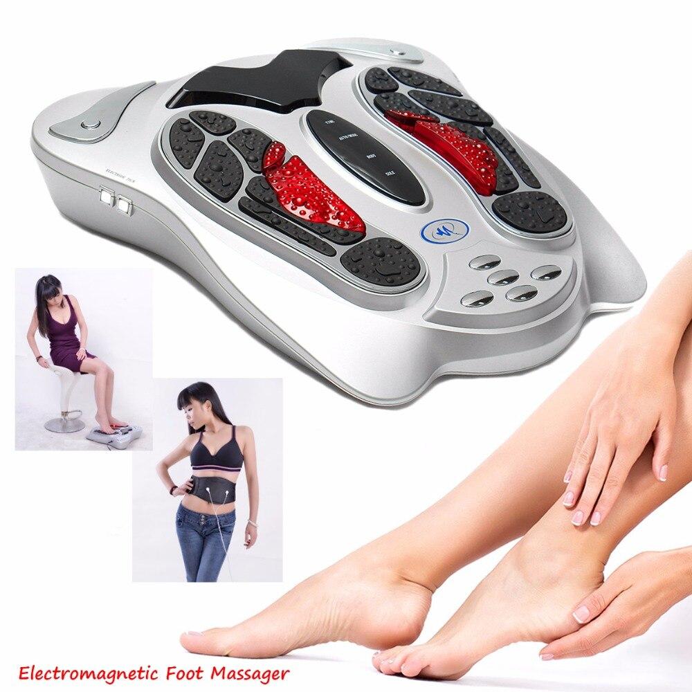 2018 elektrische shiatsu und spa fuß massage vibrator massager für durchblutung fuß massager maschine wie im fernsehen gesehen