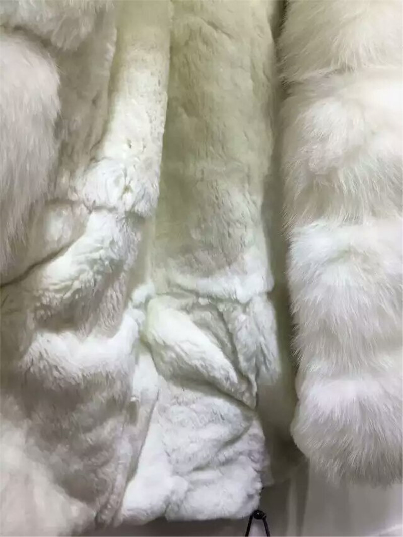 Özelleştirilmiş yeni stil kış kalın sıcak kürk - Bayan Giyimi - Fotoğraf 6