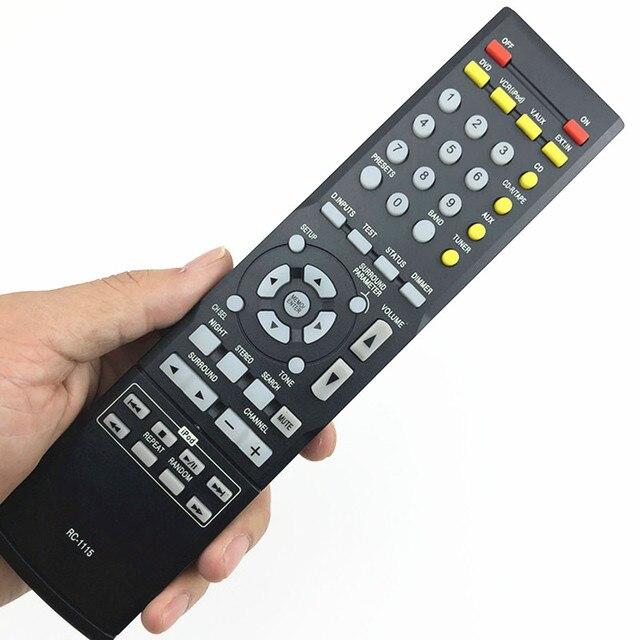 Nadaje się do obsługi denon AVR930 AVR-390 AVR-1312 AVR-1311 AVR-391 AV System zdalnego sterowania RC-1115 dźwięku cd