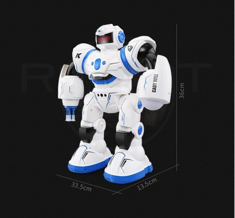 2018 nouvelle éducation électrique RC Robot jouet K 1 2.4G Intelligent RC Robot ABS danse/musique télécommande Robot meilleur cadeau enfant - 6