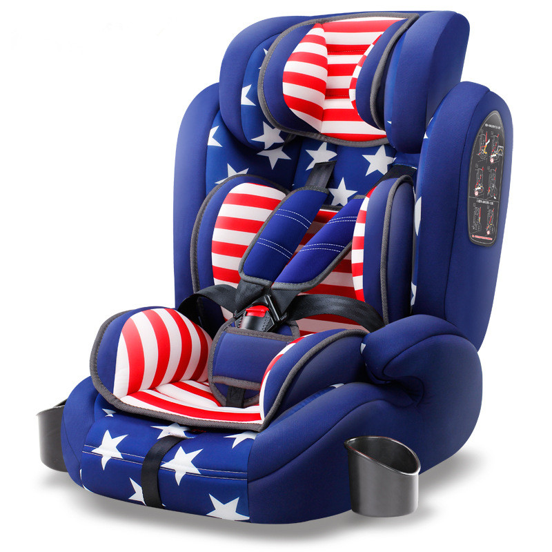 Car Safety Seat 9-12 Year Old Baby Meets European Standards Certification and Domestic 3C Certification