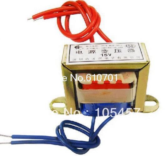 (1) 9VAC Output Voltage 3W EI Ferrite Core Input 220V 50Hz Vertical Mount Electric Power Transformer ei 57 model ei ferrite core 220v 50hz input ac 24v 30va 30w output power transformer