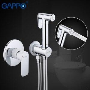 Image 2 - Gappo בידה ברזי פליז אמבטיה מקלחת ברז בידה מרסס שרותים בידה אסלת מכונת כביסה מיקסר מוסלמי מקלחת ducha higienica G7248