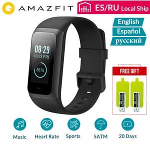 Image 1 - Amazfit Smart Watch กีฬา Band2 COR 2 สายรัดข้อมือ Heart Rate Monitor กันน้ำหน้าจอ IPS 20 วันสแตนด์บาย Bluetooth4.2 Bab