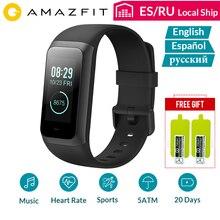 Amazfit smart watch sport band2 cor 2 손목 밴드 심박수 모니터 방수 ips 스크린 20 일 대기 bluetooth4.2 영어