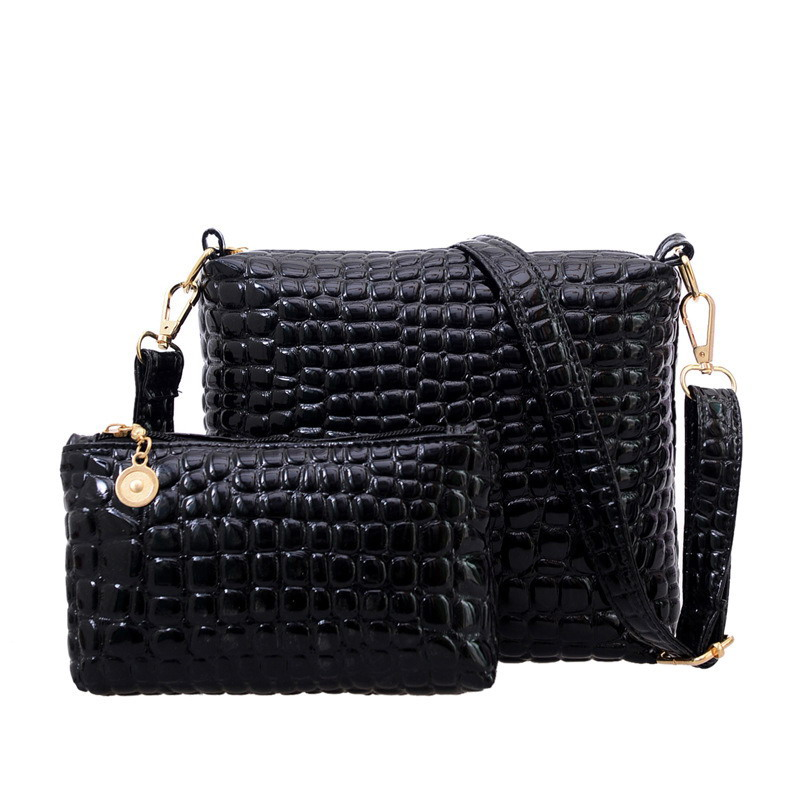 2017 New Crocodile Women Bag Alligator Messenger Bags Ladies Shoulder Bag Leather Handbags Clutch Crossbody Bags Bolsas Feminina 2016 new women leather handbags fashion shoulder bag high quali women s messenger bags ladies crossbody bag clutch wallet 2 sets