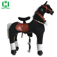 Happy toy!!!HOT SALE life size horse toy,mechanical horse toys,walking horse toy magideal horse toy game ball with apple scent pet joy fun horse stable and yard toy