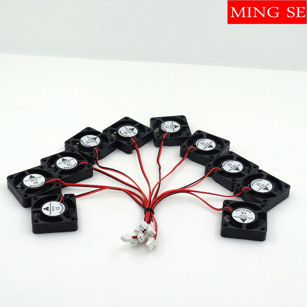 fast shipping 10pcs 4x4 Silent fan 12v or 24v and Cable 15cm for 7x12w 18x3w 7x10w 12x12w <font><b>Led</b></font> <font><b>PAR</b></font> Light Repair <font><b>parts</b></font> image