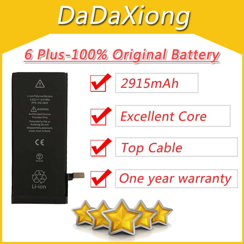 2915mah-Core Cyclic-Battery iPhone 6 Protection-Board Plus DHL Ce for 6G 100pcs/Lot Zero