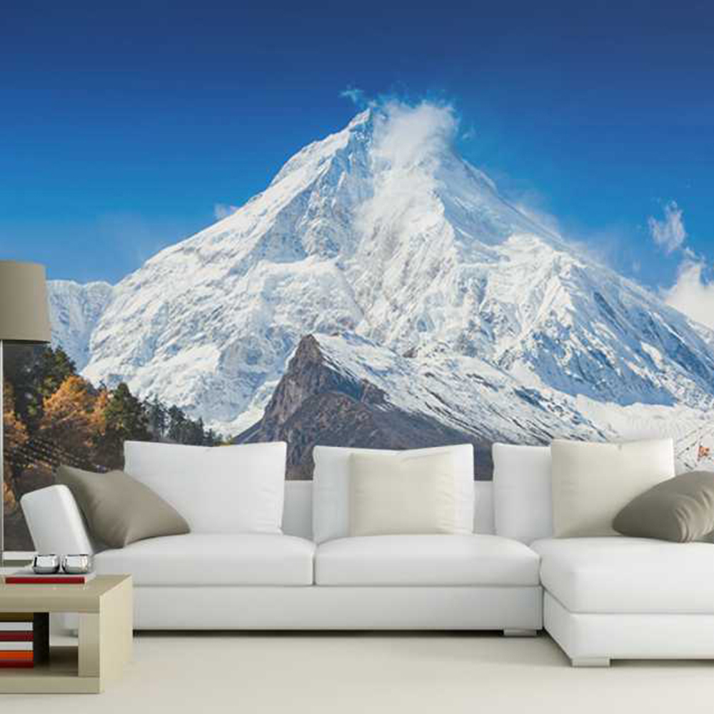Schnee Im Wohnzimmer Us 8 98 Entfernten Schnee Berge Wohnzimmer Hintergrund 3d Wallpaper Wandbild Photowall 3d Papel De Pared Pw1435731353 In Entfernten Schnee Berge