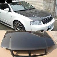 A4 B6 углеродного волокна Прокат крышка капота отверстия для Audi A4 B6 Комплект кузова 02 05