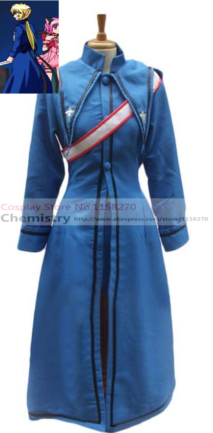 Tokyo Mew Mew The Blue Knight Cosplay Costume