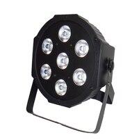 Fast Shipping American DJ Stage Lightings Disco LED Light Wash RGB Uplighting LED SlimPar Tri 7