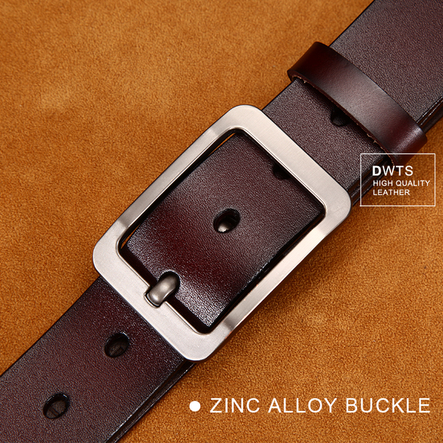 Men's Classic Leather Belt 4