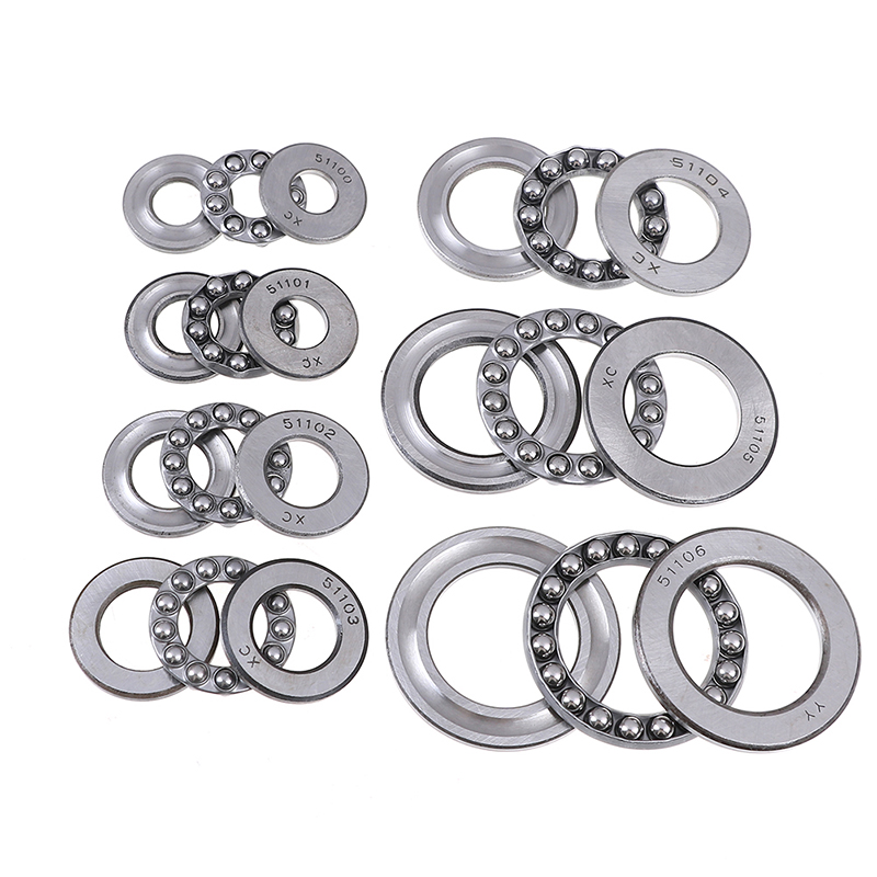 1 pcs Pratical Miniature Thrust Bearings Metal Axial Ball Bearing 3 part 51100 series 51100 to 51106 For Hardware Accessories1 pcs Pratical Miniature Thrust Bearings Metal Axial Ball Bearing 3 part 51100 series 51100 to 51106 For Hardware Accessories