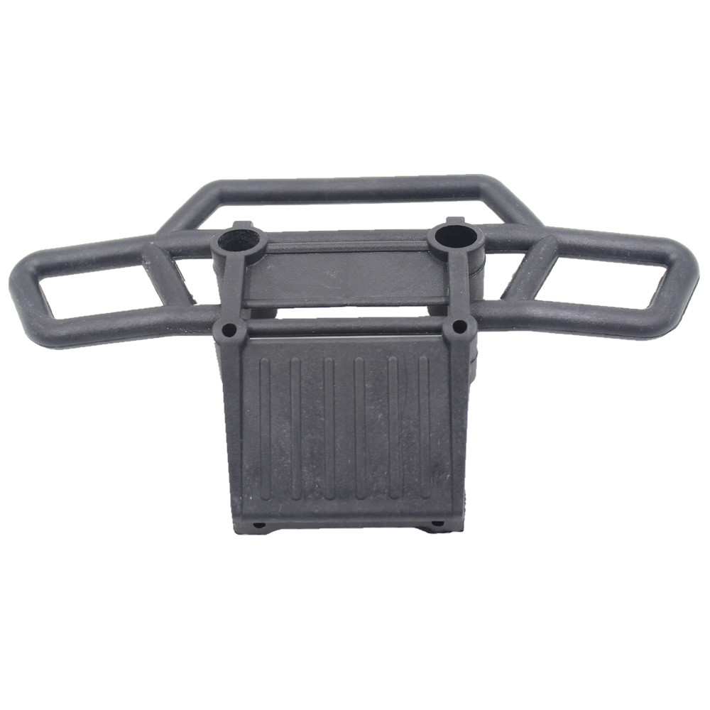 08002 Plastic Front Bumper For RC 1/10 HSP Monster Truck 94111 94188 94108 Fit Exceed Infinity Model Car Spare Parts