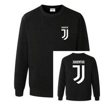 Man Women Juventus Print Sportswear Hoodies Male Hip Hop Fleece Long Sleeve Hoodie Slim Fit Sweatshirt