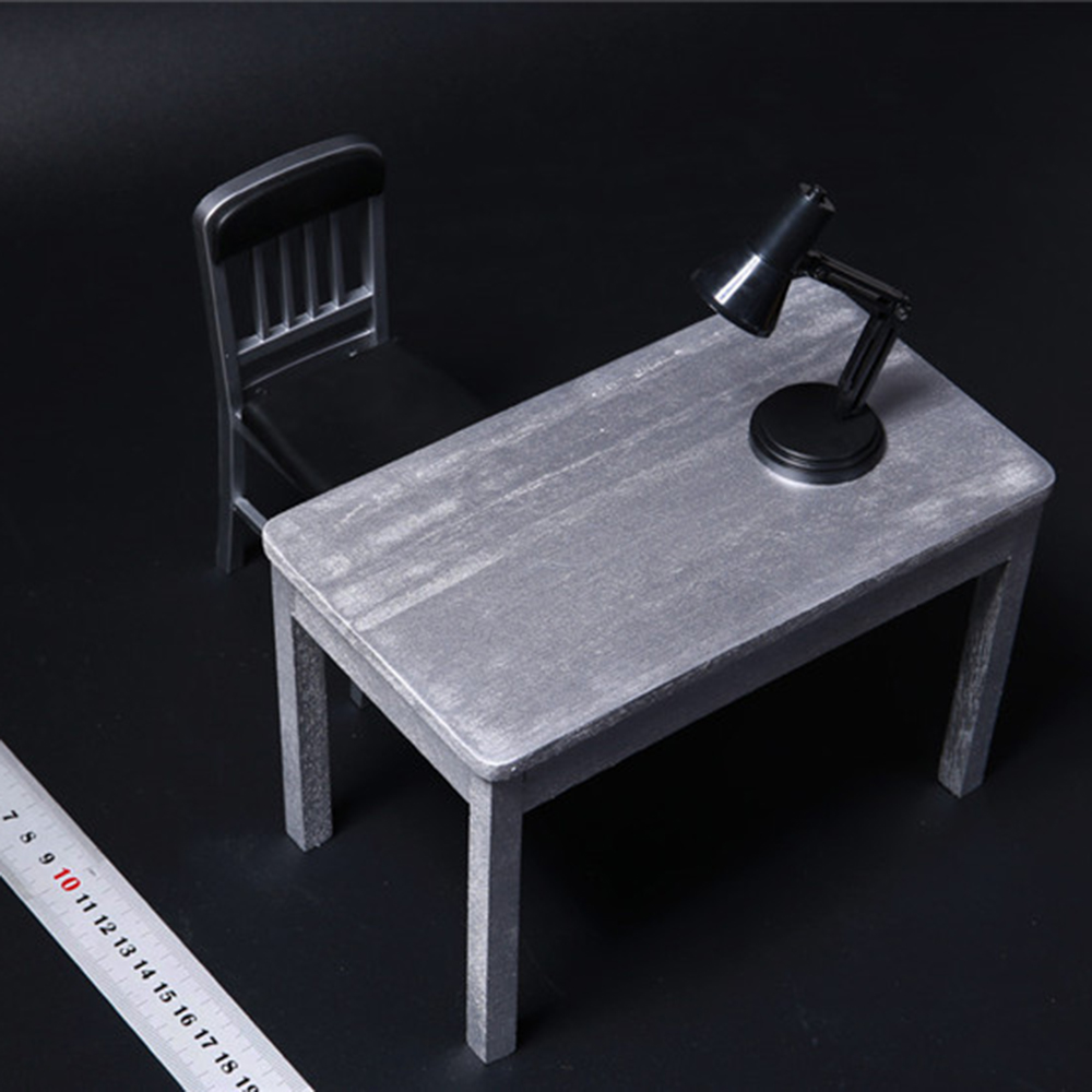 1//6 Home Scene furniture Wooden tables and chairs Accessories Figure Model