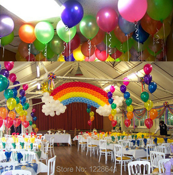 Party Supplies WEDDING DECORATION Pearlized Metallic Latex Balloons Best Price Birthday Decoration 10inch 50pcs Lot Wholesale In Ballons Accessories From