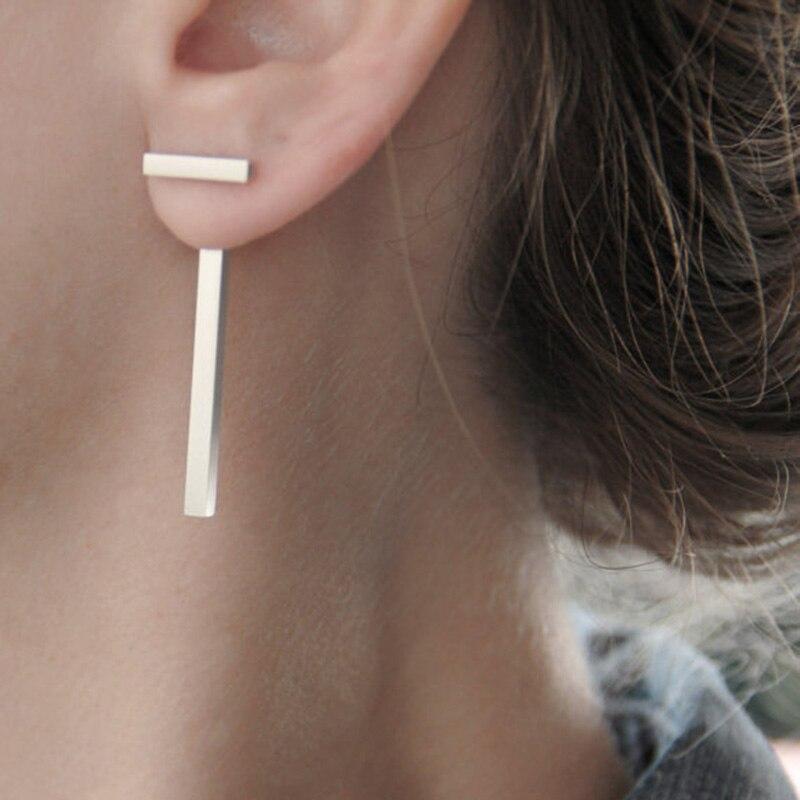 cute love punk earring body jewelry earing small earings for girls silver gold aros plata cross stud earrings for women E2301