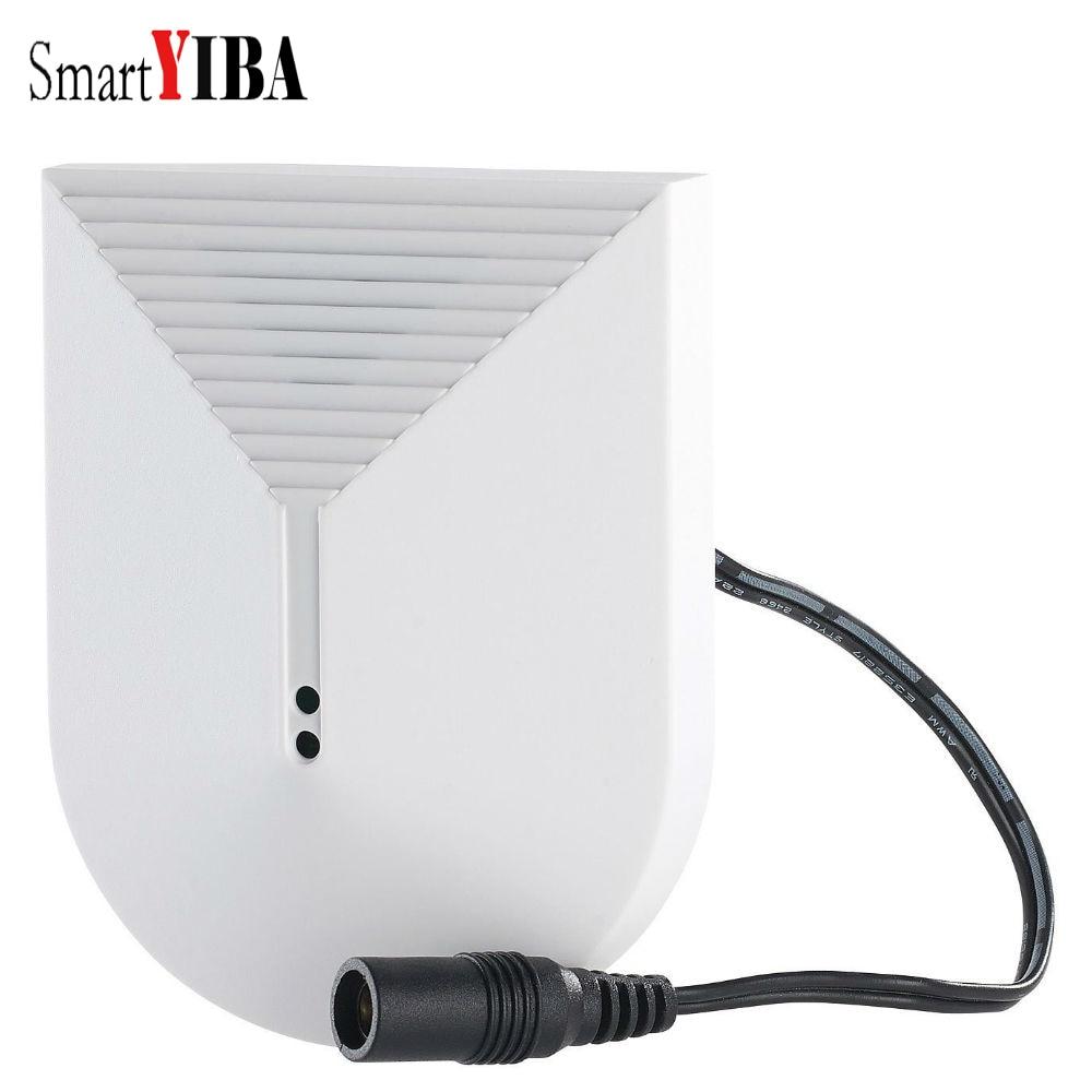 SmartYIBA Wireless Glass Break Sensor 433Mhz for WIFI GSM Home Alarm Systems yobang security home security alarm systems glass break sensor detector for g90b alarm panel 433mhz sensor for home protection