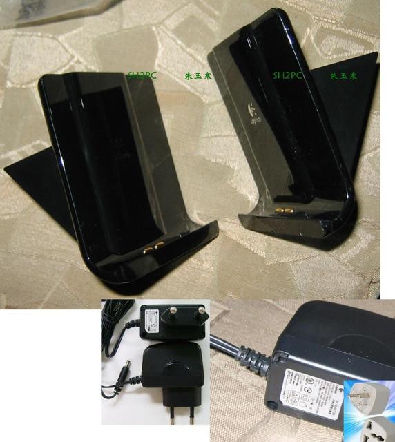 Logitech Carregador Original + adaptador AC AU plug EUA para 1000i Harmony 1100 Remoto Universal 80% nova L-LS16 saída 6 v 500mA