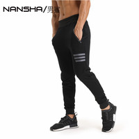 2017 GYMS New Men Pants Compress Gymming Leggings Men Fitness Workout Summer Sporting Fitness Male Breathable