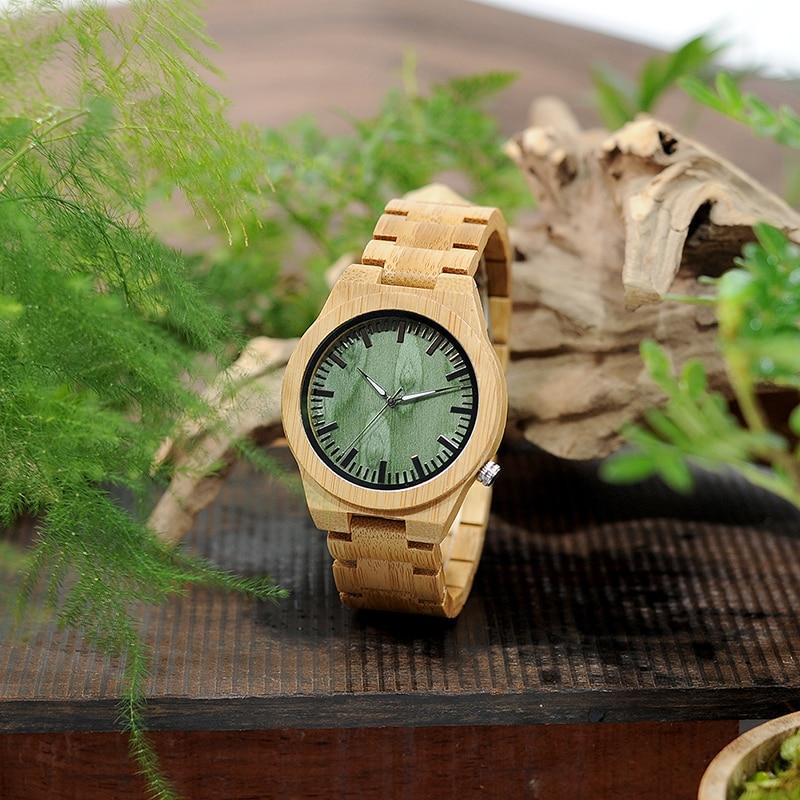BOBO BIRD B22 Ανδρικά Μπαμπού Ξύλο Wristwatch - Ανδρικά ρολόγια - Φωτογραφία 6