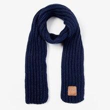 Winter Scarf Knitting Foulard Neck-Warmer Echarpe Wool-Neck Baby New Pompom Girls Boys