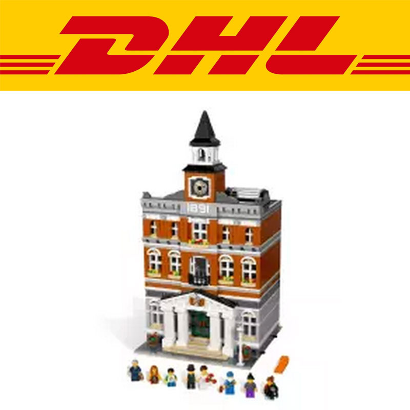 2017 lepin 15003 new 2859Pcs The topwn hall Model Building Blocks Kid Toys Kits compatible 10224 Educational Children day Gift lepin 22001 pirate ship imperial warships model building block briks toys gift 1717pcs compatible legoed 10210