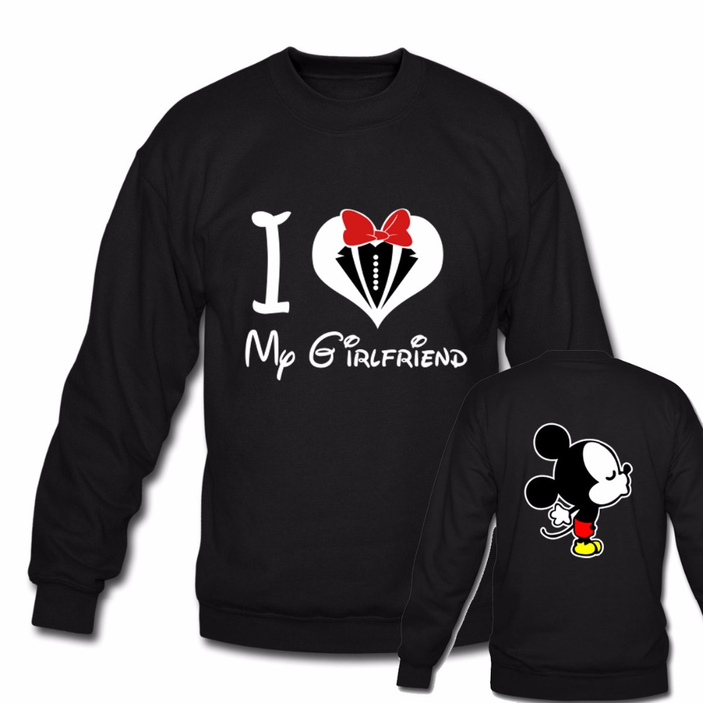Aliexpress.com : Buy Couple Macthing Men Women Sweatshirts I Love ...