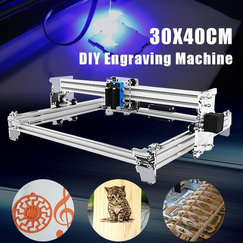 все цены на DIY 30x40cm Laser A3 Pro 2500mW Laser Engraving Machine CNC Laser Printer DIY Laser Engraver Equipment Wood Router