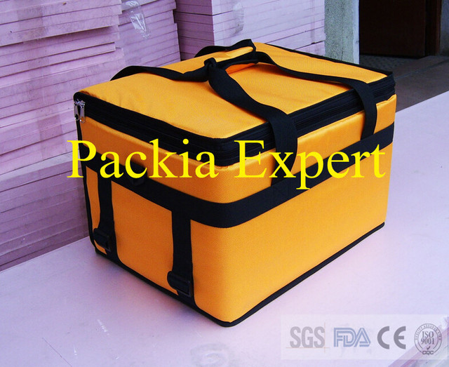 45*35*30cm  hot style  Pizza thermal insulation bag Food delivery bag for pizza or cake or juice  Pizza delivery bag