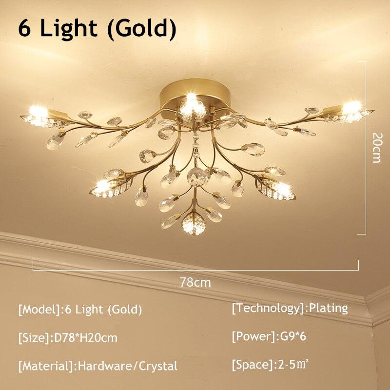6 light gold