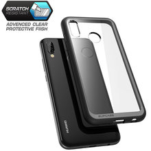 SUPCASE For Huawei P20 Lite Case Cover UB Style Series Anti knock Premium Hybrid Protective TPU Bumper+PC Clear Back Cover Case