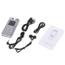 OOTDTY New Silver T90 8GB Digital Voice Recorder Audio Recording Pen Remote Sound Control MP3 2018 Fashion Voice Recorder