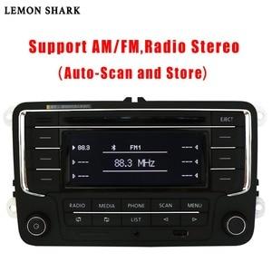 Image 4 - سيارة راديو ومشغل أقراص ستيريو RCN210 RCD320 MP3 SD بطاقة AUX Canbus بلوتوث لشركة فولكس فاجن باسات B6 CC B7 جولف 5 6 جيتا MK5 MK6 تيجوان