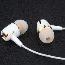 Hot Fone de Ouvido fone de Ouvido Estéreo de 3.5mm Jack de fone de ouvido Com Cancelamento de Ruído Fones de Ouvido para Meizu M3 Nota
