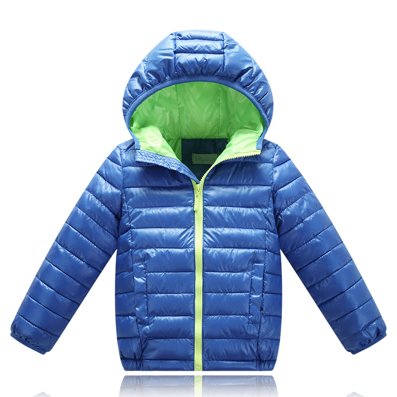 1824403eb Winter Outerwear Kids Clothes Hooded Boy Coats Down Girl Infantil ...