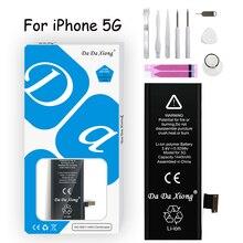 Original  Da Da Xiong Battery For iPhone 5 5G 1440mAh Genuine Li-ion Mobile Phone  Replacement For iPhone5 5 G Batteries none iphone 5 iphone 5 5 g dhl for iphone 5g