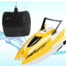 Four-Way Remote Control Boat Model Electric Boy Child Wireless Waterproof On Yacht Ship Toy Boat Water Speed Boat Toy Gift water paddle boat hand boat for child under 7 years old