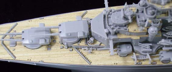 ARTWOXs 05098 battleship Bismarck German wood deck AW20001