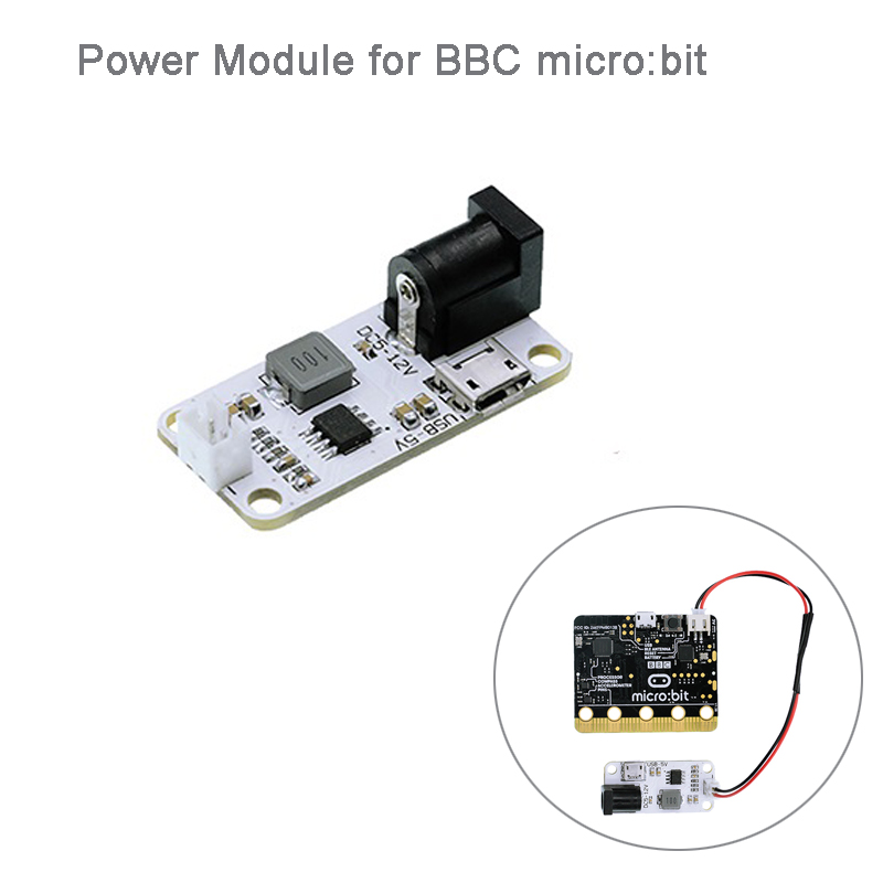 Power Supply Module 3.3V 2A For BBC Micro:bit Microbit Development Board, For Kids Education FZ3260