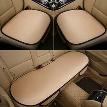 5 Colors Easy Install Car Seat Cushion Cover Universal Auto Front Back Seat Covers Car Chair Mat Pad Interior Accessories universal auto car seat cover auto front rear chair covers seat cushion protector car interior accessories 3 colors
