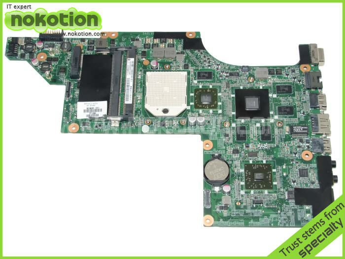 laptop motherboard for HP DV6 DV6-3000 series 603939-001 Mobility Radeon HD 5650 DDR3 Mainboard daolx8mb6d1 dv6 3000 non integrated motherboard for h p laptop dv6 3000 595133 001