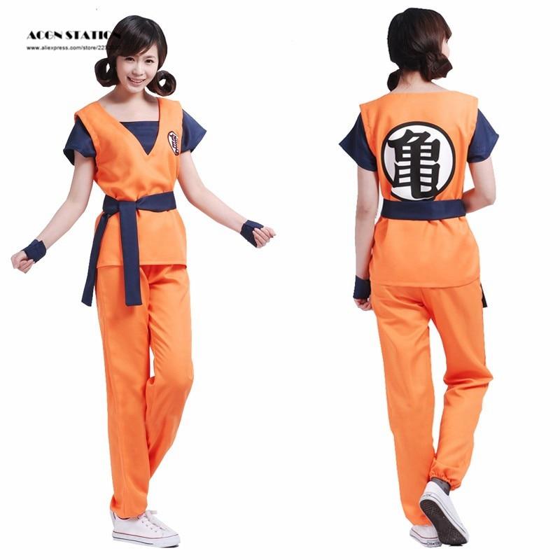 2018 Hot Goku Kostym Dragonball Film Evolution Goku Kame Practice - Maskeradkläder och utklädnad