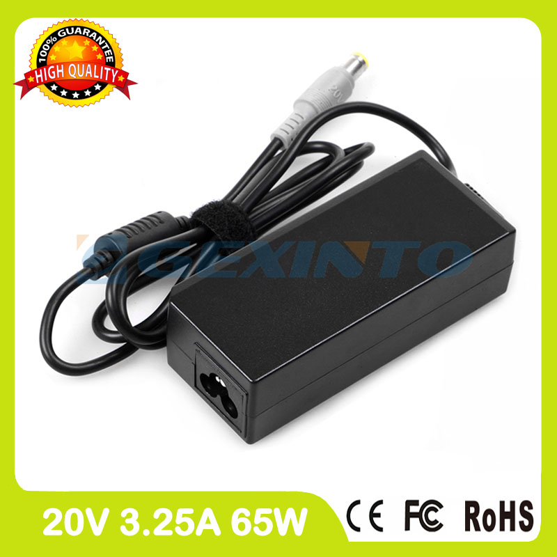 20V 3.25A laptop ac adapter 45N0318 PA-1650-171 42T4420 42T4421 40Y7701 40Y7702 for Lenovo ThinkPad X200 X200s X201 charger for lenovo thinkpad g505 g510 g50 30 g50 70 20v 2 25a 45w usb notebook laptop supply power ac adapter charger