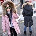 Inverno Novo Padrão de Vestuário das crianças das Crianças Vestuário Menina Coreana Chumbo Espessamento de Algodão-acolchoado Roupas Casaco Crianças Roupas