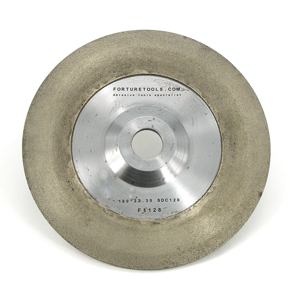 Wide rim bronze bond diamond disc for glass,agate,ceramic grinding and polishing,diamond abrasive wheels for angle grinder diamond angle grinder wheel for glass ceramic grinding dia 100mm and 80mm hole 16mm abrasive pad 120 180 grit m007