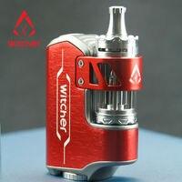 The witcher 75 W caja mod Kit de inicio de Cigarrillos Electrónicos 5.5 ML Atomizador Vaporizador plumas Vape VS Alien Rofvape Brujo
